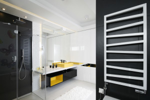 Nowoczesna łazienka dla dzieci: gotowy projekt w kolorze