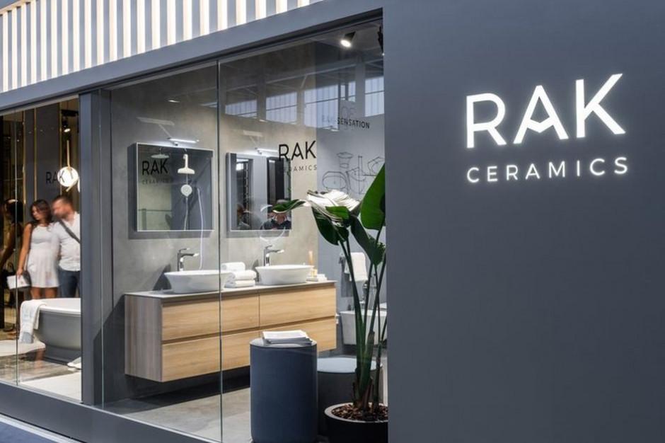 Zobacz jak prezentowało się stoisko RAK Ceramics na Cersaie