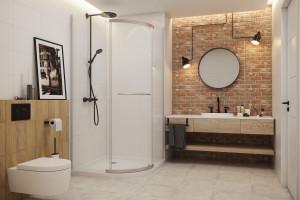 Jak urządzić łazienkę w stylu loft? [architekt radzi]