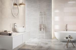 Szare płytki ceramiczne: 12 kolekcji do łazienek