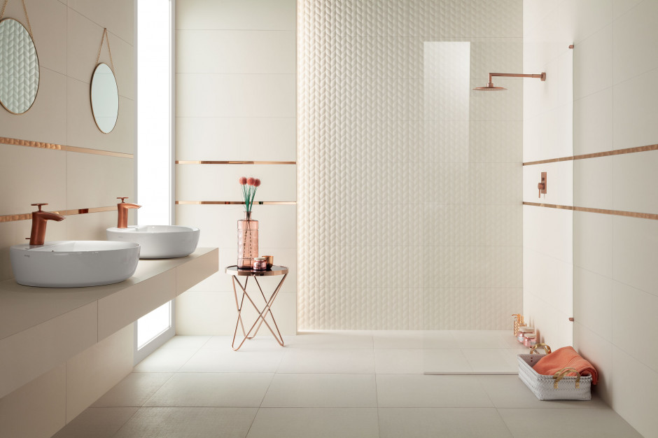 Aranżacja łazienki: wybierz strukturalne płytki