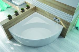 Mała łazienka: 5 modeli wanien na niewielki metraż