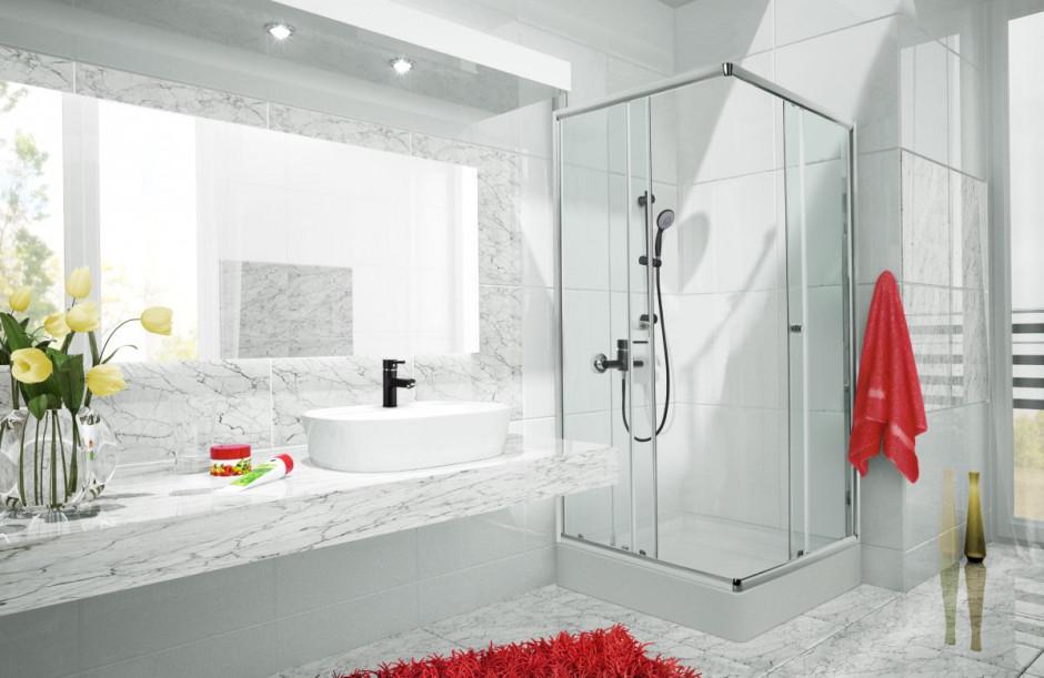 Modna łazienka: wybierz czarną armaturę