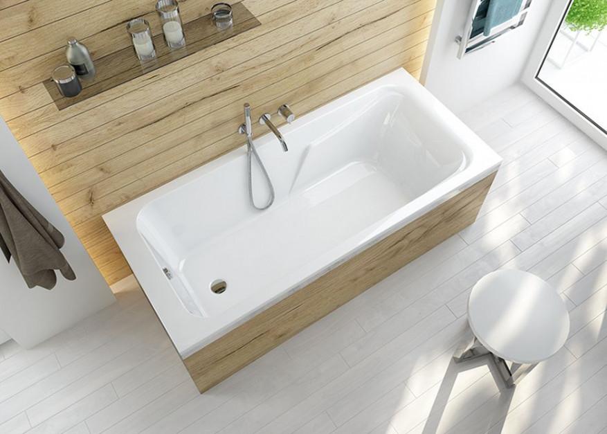 Łazienka z wanną: nowy model do każdego wnętrza