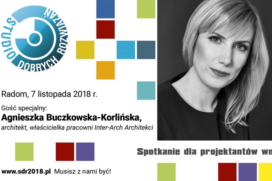 SDR Radom: Agnieszka Buczkowska-Korlińska gościem specjalnym