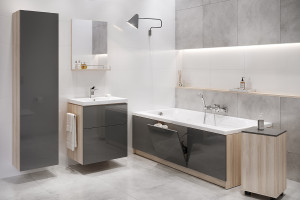 Nowoczesne meble: 12 kolekcji do łazienek