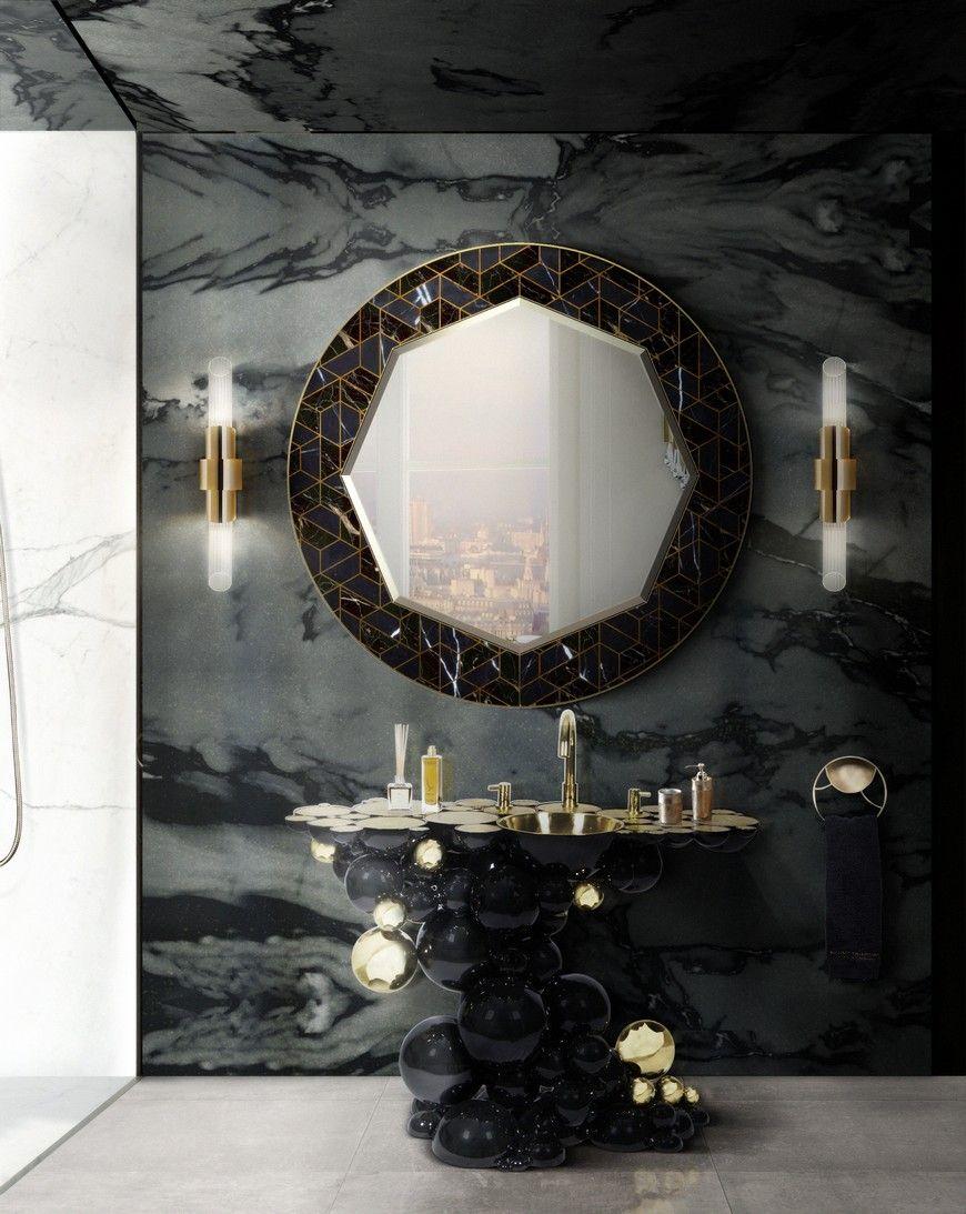 Umywalka Newton charakteryzuje się niekonwencjonalnym, ale niezwykle intrygującym i artystycznym designem. Fot. Maison Valentina