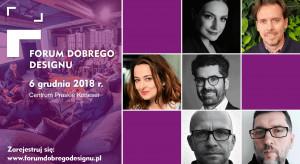 Design 4.0: nowe rozwiązania, technologie i materiały na Forum Dobrego Designu 2018