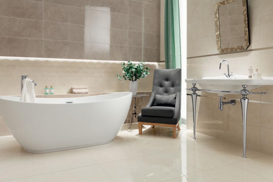 Elegancka łazienka: wybierz płytki jak kamień