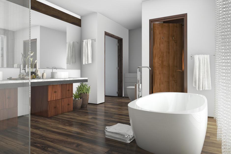 ABC drewna w łazience