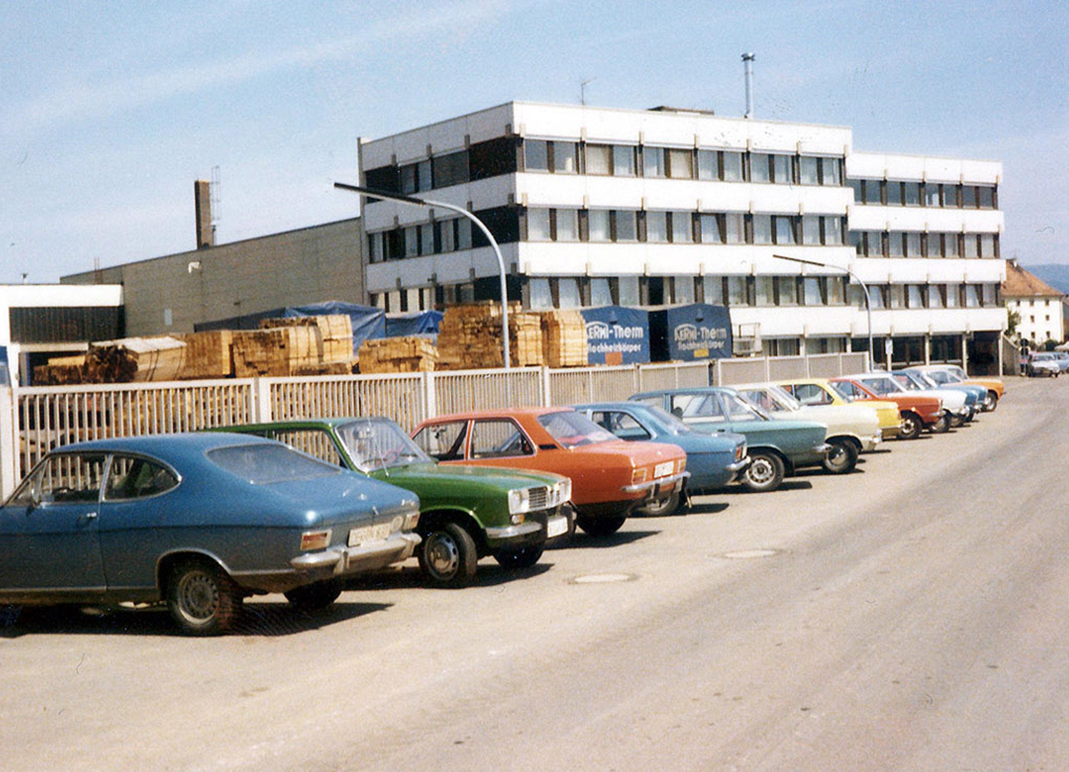 Tak wyglądała siedziba firmy Kermi w 1972 r. Fot. Kermi