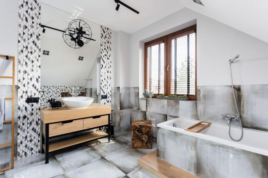 Łazienka w stylu loft: inspiracje z polskich domów