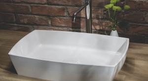 Nowoczesna łazienka: postaw na kompozyt