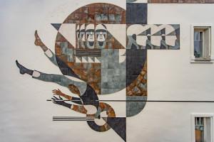 Unikalna instalacja ceramiczna zmienia miejską przestrzeń Łodzi