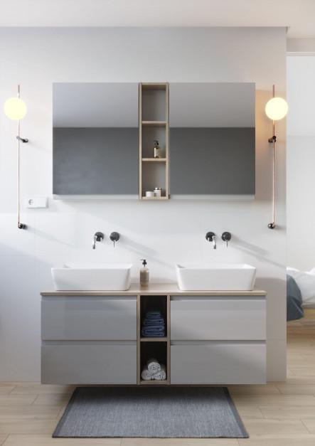 Funkcjonalna łazienka: zobacz modułową kolekcję na mały metraż