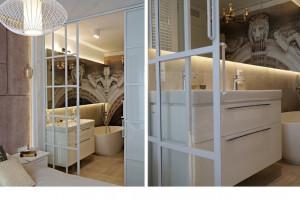 Łazienka przy sypialni: zobacz pomysłowy projekt
