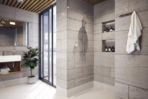 Strefa prysznica: zamień brodzik na odpływ