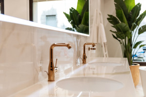 Baterie łazienkowe: seria łącząca funkcjonalność i design