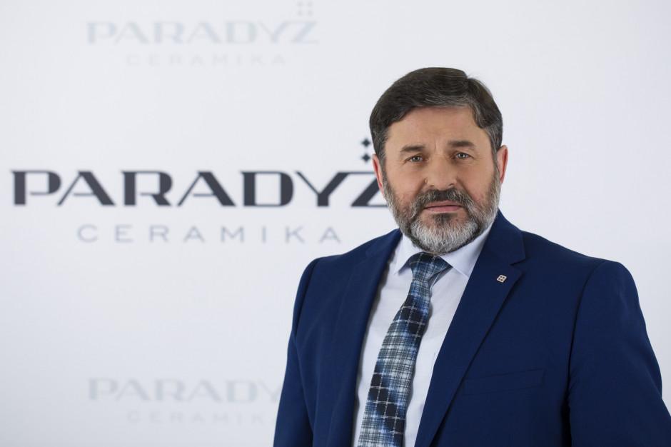 Dr inż. Ferdynand Gacki, Ceramika Paradyż mówi o przewadze konkurencyjnej, jaką daje przemysł 4.0