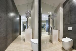 Podłoga w łazience: garść pomysłów z polskich domów