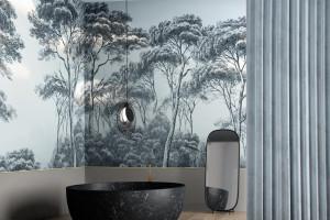 Co na ścianę w łazience? Wybierz wodoodporną tapetę!