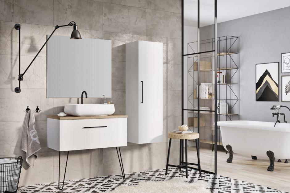 Kolekcja mebli łazienkowych Futuris od Ellity