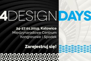 4 Design Days: już można się rejestrować!