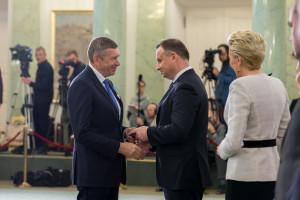 Andrzej Wodzyński odznaczony Medalem Stulecia Odzyskanej Niepodległości