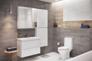 Sprzątanie łazienki - będzie łatwiejsze z minimalistycznym wyposażeniem!