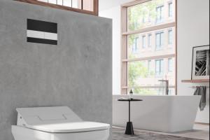 Detal w łazience: estetyczne przyciski spłukujące