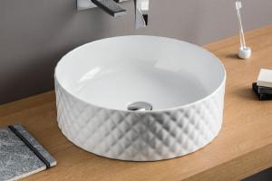 Łazienka jak salon kąpielowy: wybieramy umywalkę