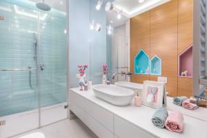 Łazienka dla dzieci: zobacz gotowy projekt