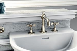 Stylowe wyposażenie łazienki Camden od Graff