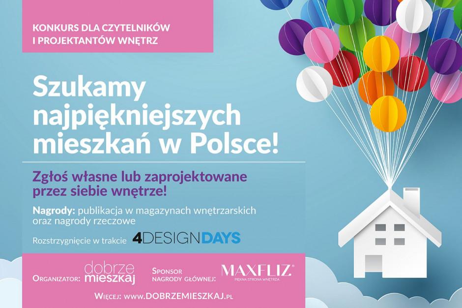 [Konkurs 4DD] Szukamy najpiękniejszych mieszkań w Polsce