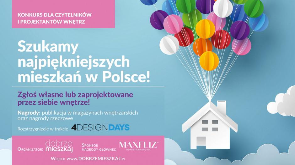 Konkurs! Szukamy najpiękniejszych mieszkań w Polsce