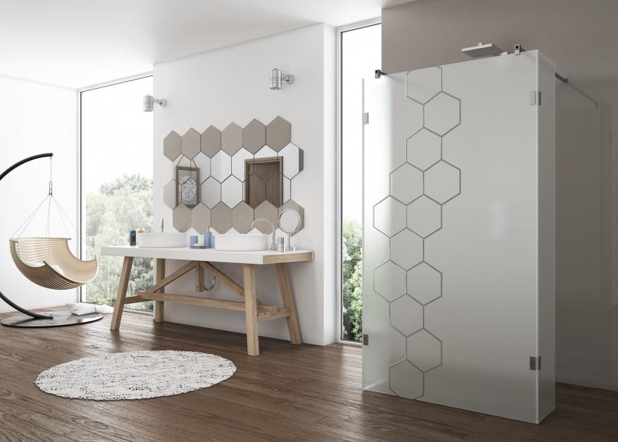 Ściana w łazience - co zamiast płytek ceramicznych?