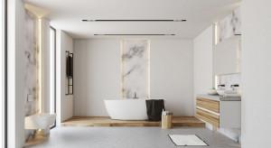 Kamień w łazience: piękne marmury z Carrary