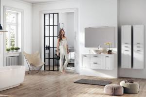 Łazienka w stylu skandynawskim: wybieramy meble