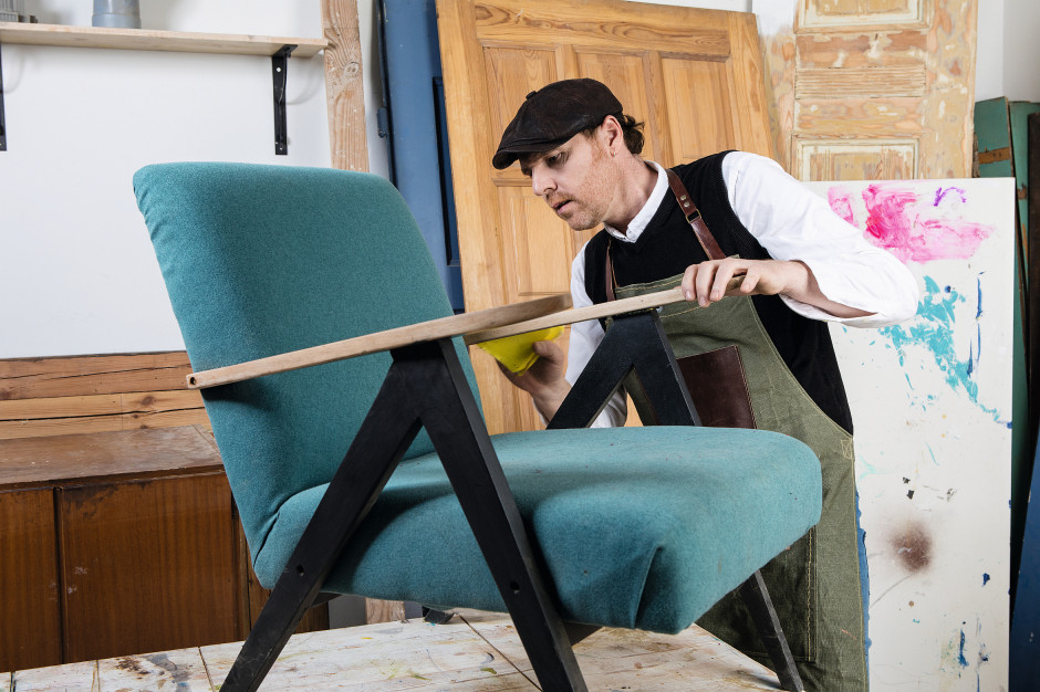 4 Design Days: Jimi Ogden pokaże jak odnawiać stare meble