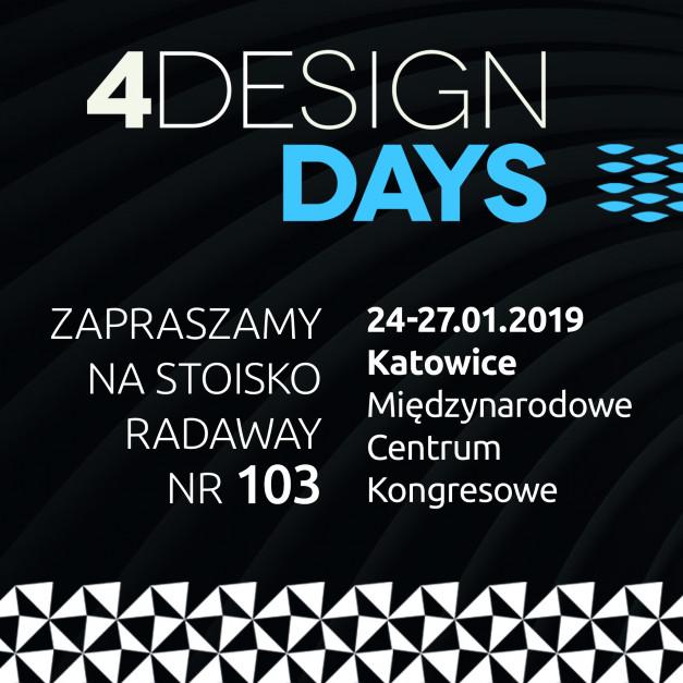 Radaway zaprasza na stoisko na 4 Design Days