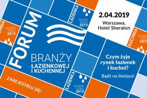 Zapraszamy na Forum Branży Łazienkowej 2019