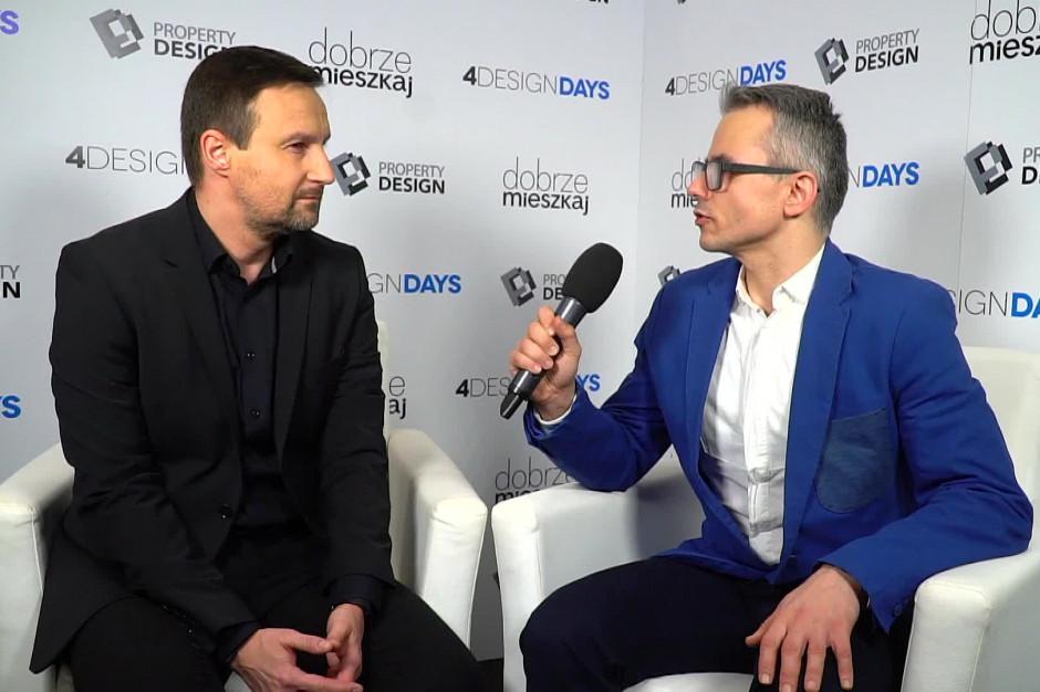 Krzysztof Chróścielewski, juror ODDC: Projektowanie jest o człowieku, jego potrzebach, a mniej  o pięknie