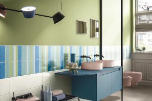 Płytki ceramiczne: 20 modnych kolekcji do łazienek
