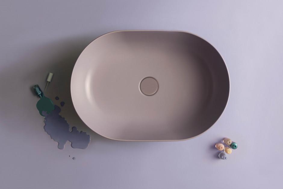 Kolorowe umywalki: 5 barwnych modeli