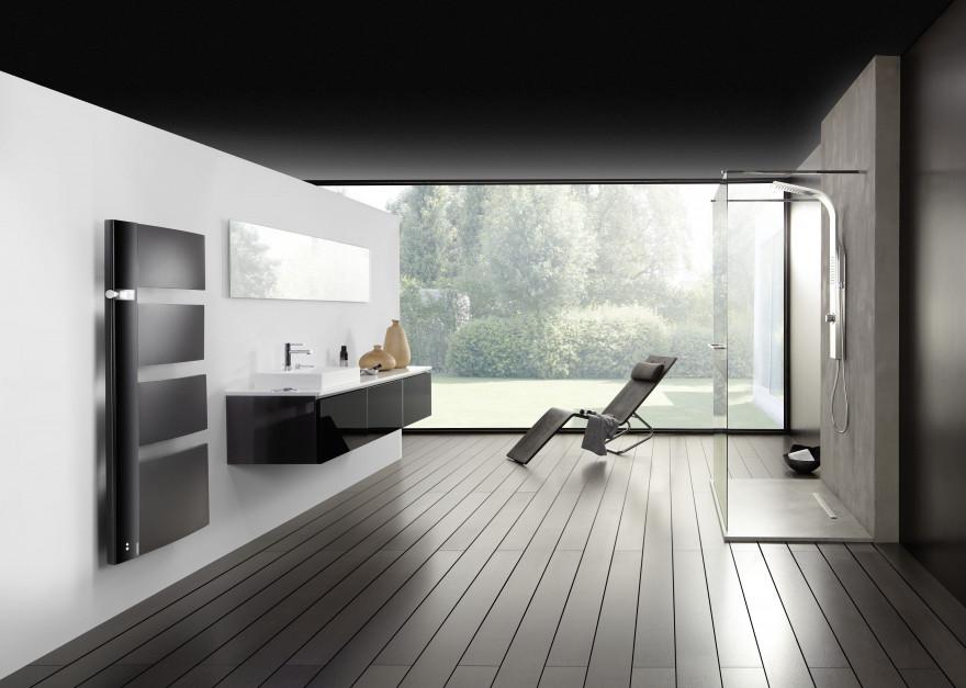Ogrzewanie w łazience: nowoczesne i efektowne grzejniki