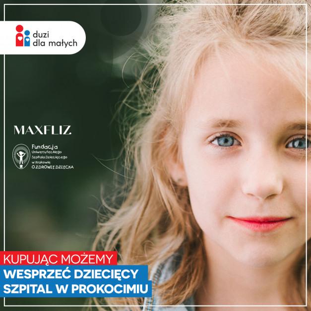 Wyposażaj z sercem: zrób zakupy w Maxfliz i wspomóż szpital dziecięcy