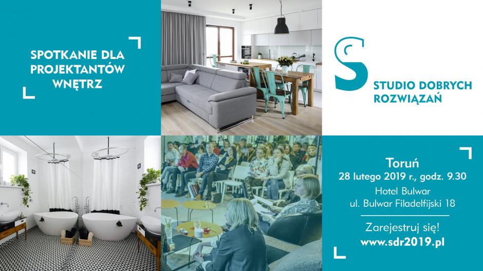 Już 28 lutego spotkanie dla projektantów wnętrz w Toruniu!