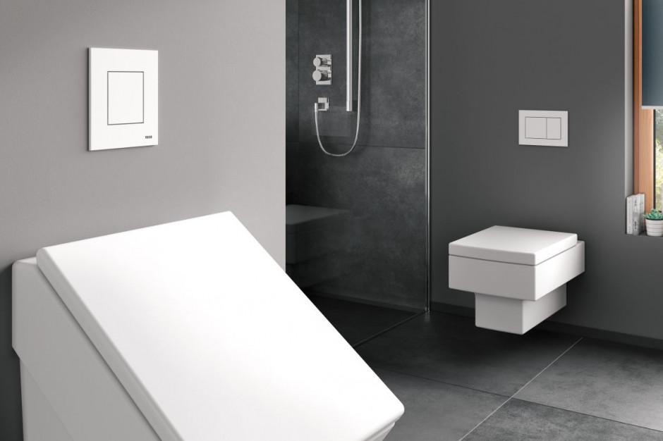 TECEnow – antybakteryjne przyciski do WC i pisuaru