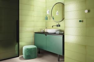 Kolorowe płytki ceramiczne: modne kolekcje do łazienek