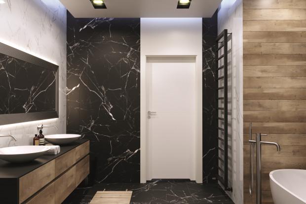 Aranżacyjna kropka nad i: drzwi w łazience